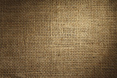 Burlap texture Stock Photos