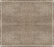 Burlap textured background. Natural burlap sack textured material background Royalty Free Stock Photo