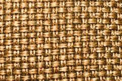 Burlap worka wzór metalu złocisty kolor dla podłogowego projekta lub zewnętrznie ścienna dekoracja nowożytny budynek z wibr zdjęcie royalty free