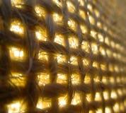 Burlap1. An interesting up close view of burlap Stock Photo