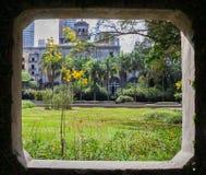Burle Marx Garden Sao Paulo Stock Images