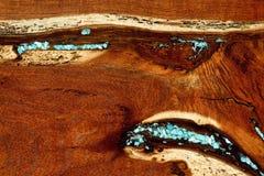 Burled redwoodträdbakgrund Royaltyfria Foton