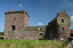 Burleigh Castle Royalty Free Stock Images