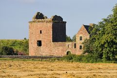 Burleigh castle ruins, Scotland Stock Photography