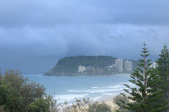 Burleigh Heads early morning Royalty Free Stock Image