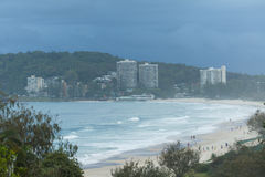 Burleigh Heads early morning Royalty Free Stock Images
