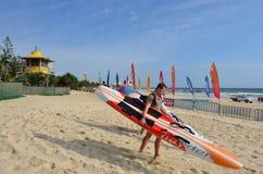 Burleigh Heads Gold Coast Queensland Australien Fotografering för Bildbyråer