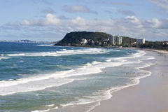Burleigh Heads National Park Royalty Free Stock Image