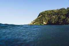 Burleigh huvud från havet Arkivbilder