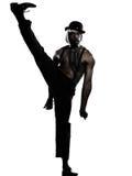 burlesk man för kabaretdansaredans Royaltyfri Foto