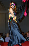 Burlesque da luz das estrelas em Sexapalooza Toronto Fotos de Stock Royalty Free