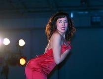 Burlesque de lumière des étoiles chez Sexapalooza Toronto Image stock