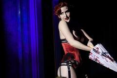 Burlesque de Praga Imagen de archivo libre de regalías
