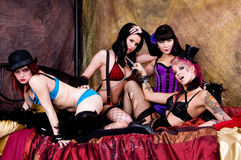Burlesque Dolls Stock Photography