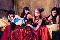 Burlesque Dolls Royalty Free Stock Photography