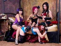 Burlesque Dolls Royalty Free Stock Photo