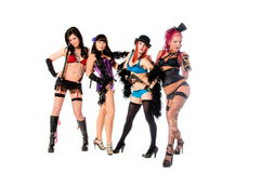 Burlesque Dolls Royalty Free Stock Image