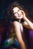 Burlesque girl Royalty Free Stock Image