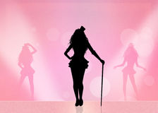 Burlesque Royalty Free Stock Images