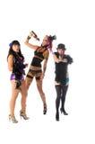 Burlesque las muñecas Imágenes de archivo libres de regalías