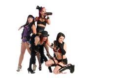 Burlesque las muñecas Foto de archivo