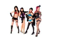 Burlesque le bambole Fotografia Stock Libera da Diritti