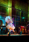 Burlesque Tänzer Lizenzfreies Stockfoto