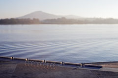 burley格里菲斯湖 免版税库存图片