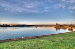 burley griffin jeziora Obrazy Royalty Free