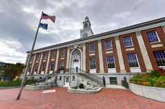 Burling Vermont City Hall Stock Image