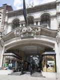 Burlington Arcade, London royalty free stock photo