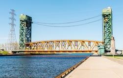 Burlington Canal Lift Bridge Stock Photography