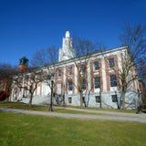 Burlington City Hall, Burlington, Vermont. Burlington City Hall at the intersection of Church Street and Main Street in Burlington, Vermont, USA Stock Image