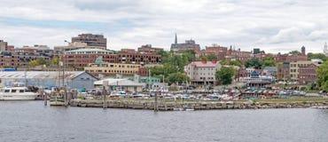Burlington nabrzeże Zdjęcia Stock