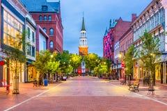 Burlington, Vermont, de V.S. stock fotografie