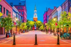 Burlington, Vermont, EUA fotos de stock royalty free