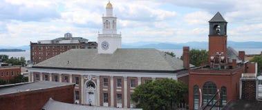 Burlington Vermont stadshus Royaltyfri Foto