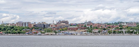 Burlington waterfront Stock Photography