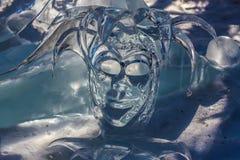 Burlone del ghiaccio Fotografia Stock Libera da Diritti