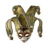 Burlone della maschera di Venezia Fotografia Stock Libera da Diritti