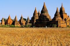 burma bagan ruiny Myanmar Obrazy Royalty Free