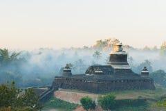 burma dukkanthein mrauk Myanmar paya u obrazy stock