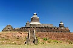 burma dukkanthein mrauk Myanmar paya u obraz royalty free