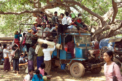 burma jamy Myanmar pindaya Zdjęcie Stock