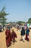 burma jamy Myanmar pindaya Obrazy Royalty Free