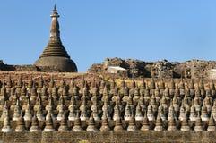 burma kothaung mrauk Myanmar świątynia u obrazy royalty free