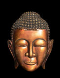 Burma (Myanmar) Buddha Mask Royalty Free Stock Photography