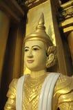 burma myanmar pagodashwedagon yangon Royaltyfria Bilder