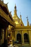 burma myanmar pagodasule yangon Arkivbilder