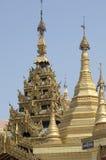 burma myanmar pagodasule yangon Royaltyfri Bild